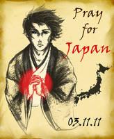 Pray For Japan by javanazV