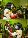 Medic Halloween cosplay (Second Opinion) by MaraMarko