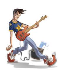 The Bass by MakmadArt