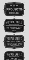 Vintage Badges Set by Nyz87