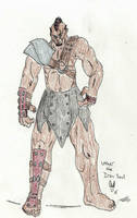 Blood and Bounty Concept Sketch: Uther by Herokip98