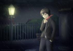 Rain by RestlessComic