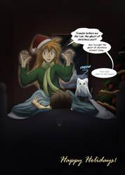 Happy Holidays 2014 by RestlessComic
