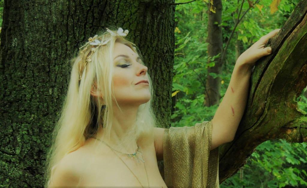 Wood Nymph by EllentariOrigins