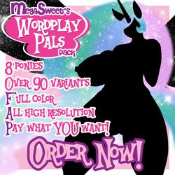 MegaSweet's Wordplay Pals Pack is GO by MegaSweet