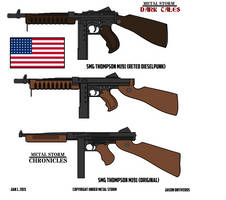 METAL STORM: SMG M1A1 Thompson (Tommy Gun) by ImperialAce