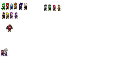 Bros cast 1.0 by Darksaiyan577