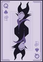 Queen of Spades by Mr-Bluebird