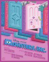 Monsters Inc. by Mr-Bluebird