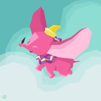 The Flying Elephant by Mr-Bluebird