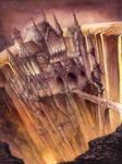 Fantasy Castle by GrimDreamArt
