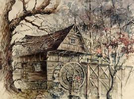 Mill by GrimDreamArt