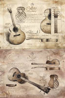 Handmade Guitar by GrimDreamArt