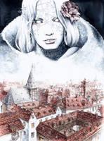 Snow Queen by GrimDreamArt