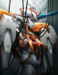 Strelitzia - Darling in the franxx by OOQuant