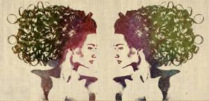 2 Girl 1 wall by Misanthropics