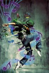 dancing man by Misanthropics