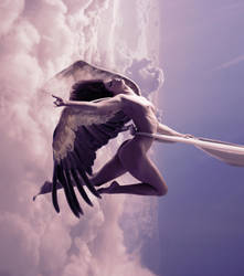 pink angel by Misanthropics