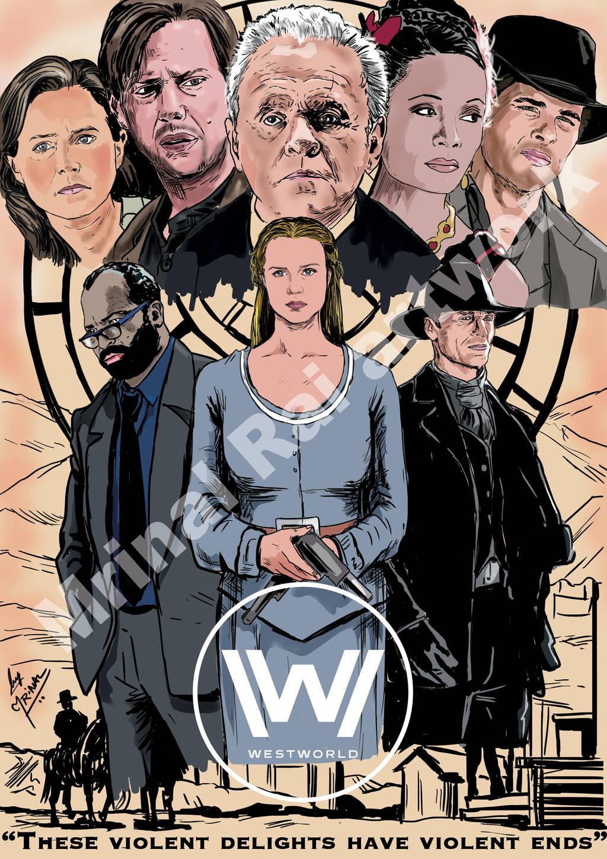 Westworld by mrinal-rai
