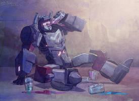 heavy drinker by yamaishi