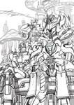 TFP Cybertron golden age sketch by GoddessMechanic