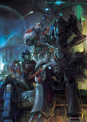 TFP Cybertron golden age by GoddessMechanic