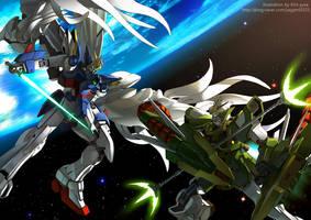 Gundam - W by GoddessMechanic