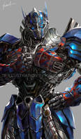 TF4 Optimus prime fan art by GoddessMechanic