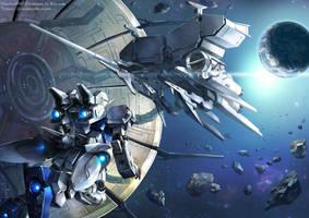 Mobile suit Gundam 0083 by GoddessMechanic
