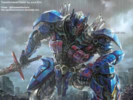 TF5 Optimus prime fan art by GoddessMechanic