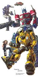 Transformers bumblebee by GoddessMechanic
