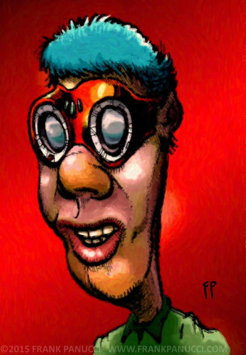 Goggle Guy by Prankly