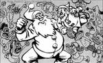 Santa vs. Elf by Prankly