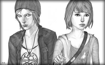 Chloe and Max - Life is Strange. by HassanBassam