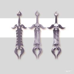 the Sword of Mortality by gregor-kari