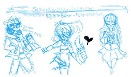 Freetime Practice-Cartooning and Animation Class by KatyScene