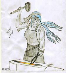 Indigo Sketch by Dragonflame218