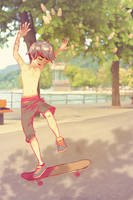 Skaters keep me up all night... by asoftcreature