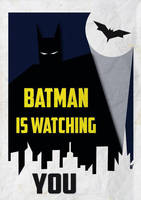 batman is watching you by lozart