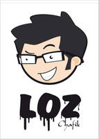 loz auto portrait by lozart
