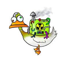 Nuclear Duck by skoppio