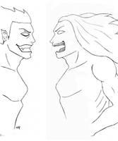 The Fight by skoppio