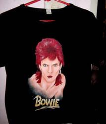 Bowie T- Shirt by She-Raziel
