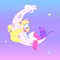 moon by Shinkami