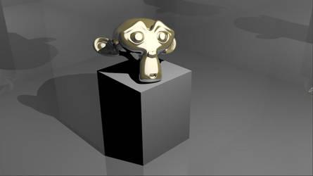 Golden Monkey by Superbidou