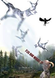 The Elder Scrolls V : Scatrim by Superbidou