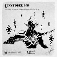 Linktober 2017 Day 10 by LuisMiguel-ART