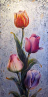 Tulips full photo by NelEilis
