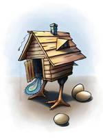 Hen Hut by NelEilis