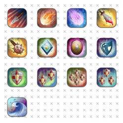 Game Icons by NelEilis